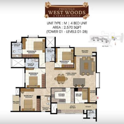 prestige-west-woods-4-bhk-plan