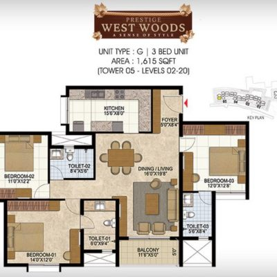 prestige-west-woods-bangalore-plan