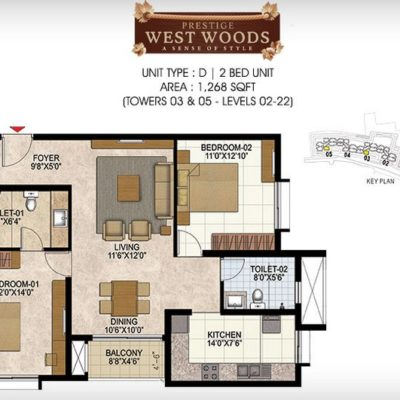 prestige-west-woods-floor-plan