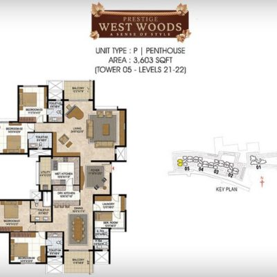 prestige-west-woods-key-plan
