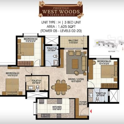 prestige-west-woods-plan