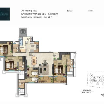 prestige-leela-residences-4-bhk-floor-plans