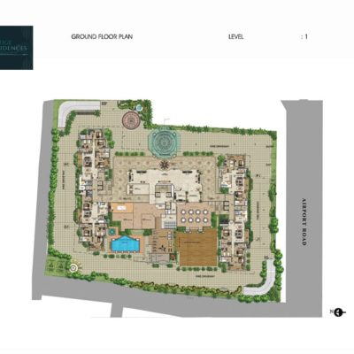 prestige-leela-residences-layout-plan