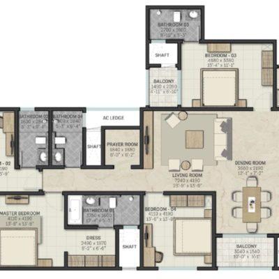 sobha-indraprastha-phase-2-floor-plan