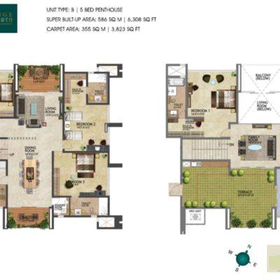 prestige-kenilworth-duplex-floor-plan
