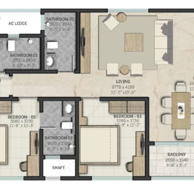 sobha-rajvilas-rajajinagar-floor-plans
