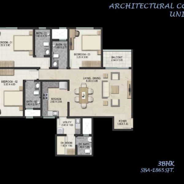 sobha-royal-pavilion-floor-plans