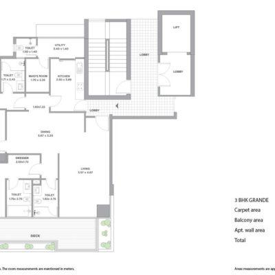 tata-promont-3-bedroom-plans