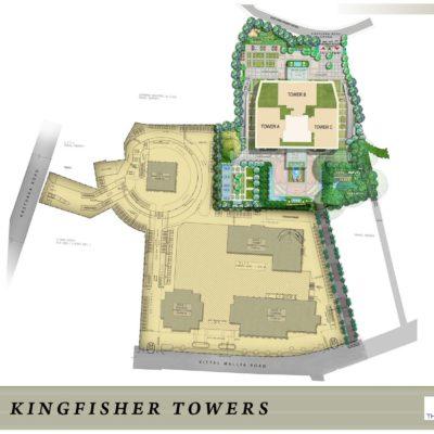 Prestige-kingfisher-towers-master-plan
