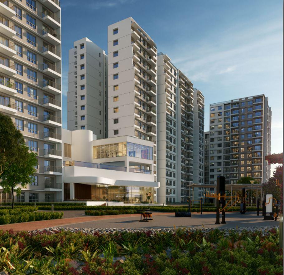 Godrej Aqua Apartments Yelahanka Airport Road Hosahalli