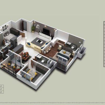 Purva-zenium-apartments-plan