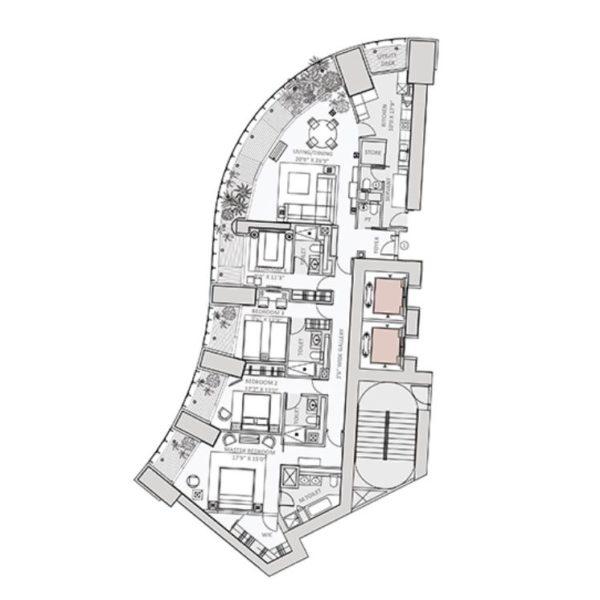 lodha-world-towers-one-floor-plan